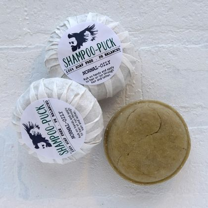 100% soap free solid shampoo special offer!