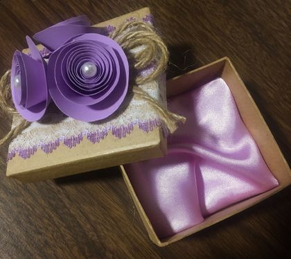 10PCS  PERSONALISED FAVOUR BOX