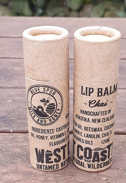 Beeswax Lip Balm - Chai flavoured