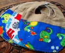 Boy Bib Bundle of 3