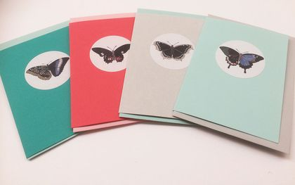 Beautiful Butterfly Gift Tags