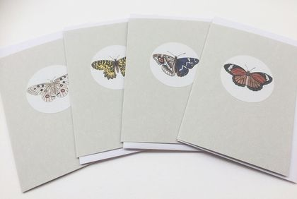 Beautiful Butterfly Gift Tags 2