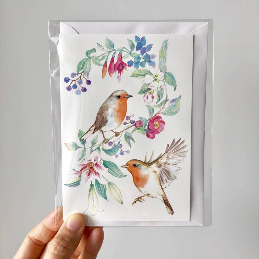 Illustrated Cards [Free shipping]