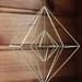 Geometric Brass Hanging Sculpture 002