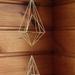 Geometric Brass Hanging Sculpture 004