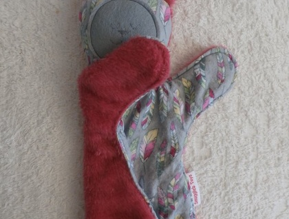 Snuggle Buddy and Rabbit Ear Teether Gift Pack