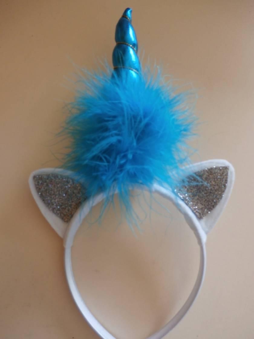 Unicorn Headband - Silver Ears
