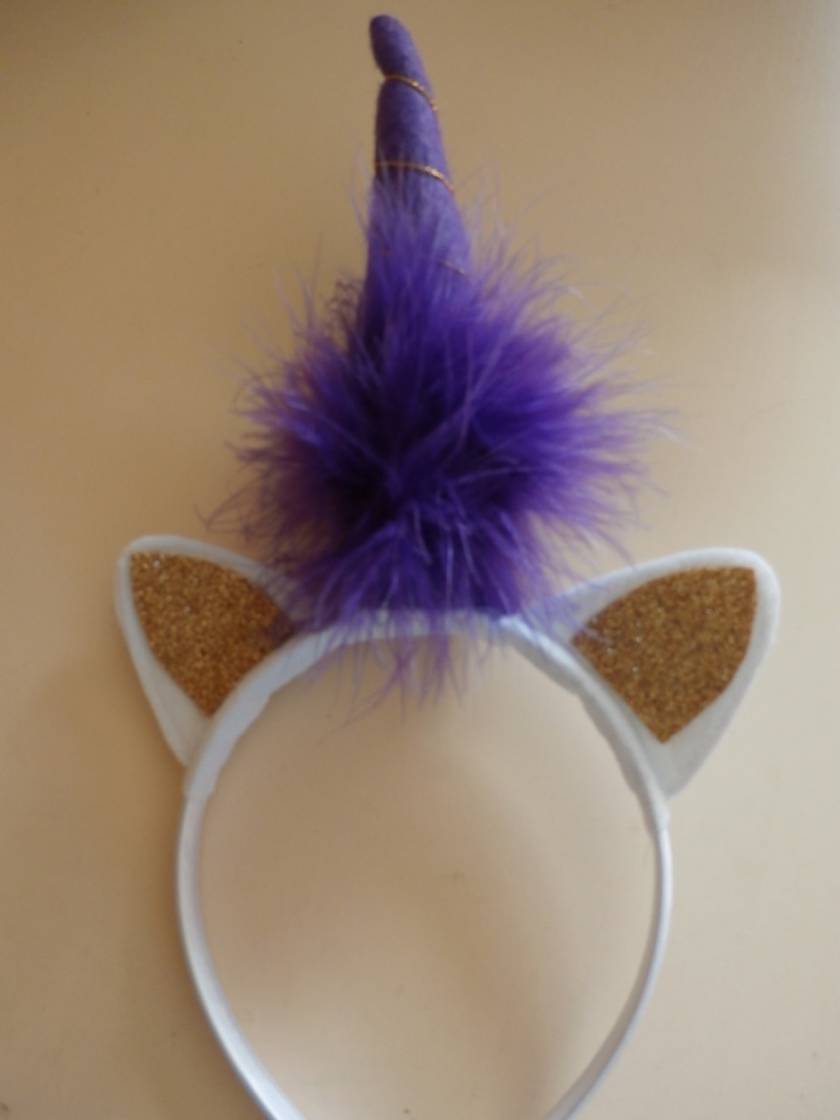 Unicorn Headband - Gold Ears