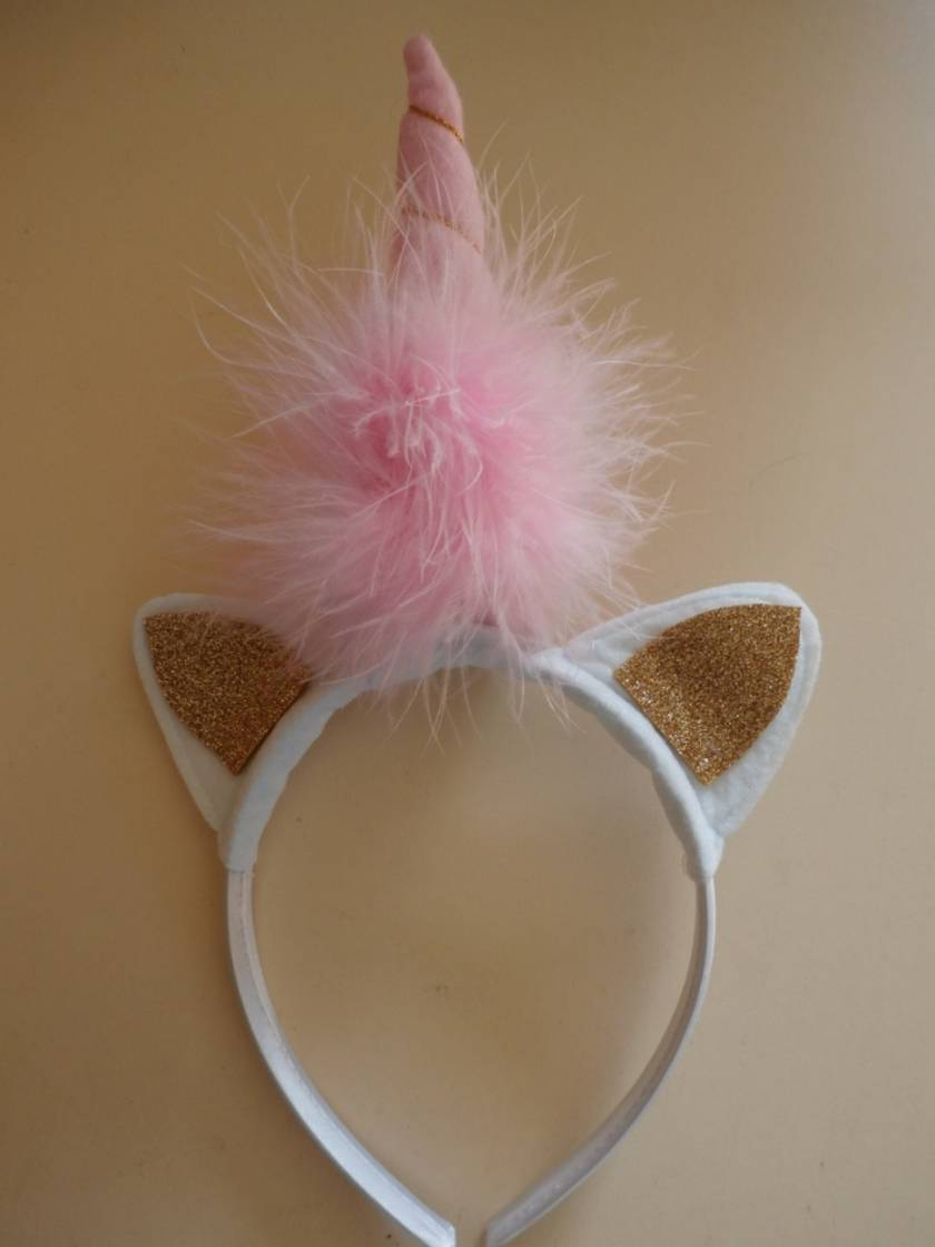Unicorn Headband - Gold Ears