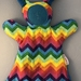 Rainbow Snuggle Buddy and Teether Gift Pack
