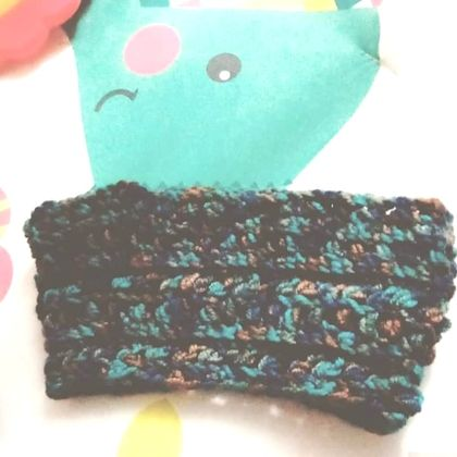 Handcrafted toddler earwarmer