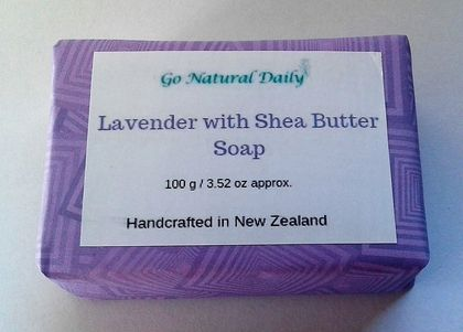 Lavender with Shea Butter Soap