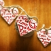 Love Bunting - Ceramic Red Hearts Garland