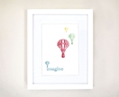 Framed 'Imagine Balloons' Print