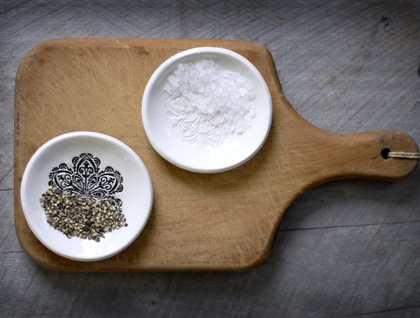 Ceramic Salt & Pepper Dishes