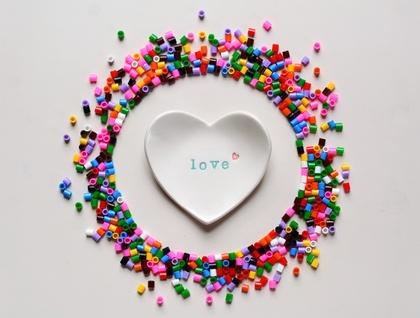 Ceramic Love Heart Dish