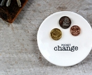 Ceramic Pocket Change Dish / Spare Change