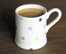 Kiwi Dots Country Mug