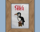 SHAG - Cross stitch pattern