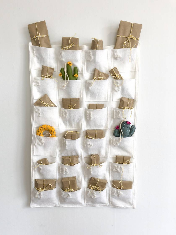 Modern Fabric Advent Calendar Felt