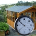 Gardeners Moon phase clock. Easy read black and white dial.