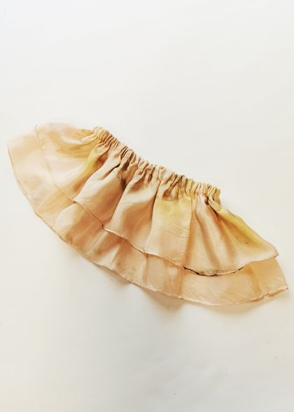 Plant dyed dancing skirt