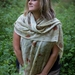 Merino wrap - winter collection -earthen tones