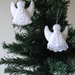 Felt Angel Christmas Tree Ornaments