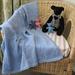 Merino Wool Baby Blanket Hand Knit