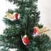 Felt Red Robin Bird Christmas Tree Ornament