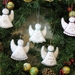 Felt Angel Christmas Tree Ornaments