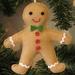 Felt Gingerbread Man Christmas Tree Ornament