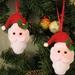Felt Santa Christmas Tree Ornament