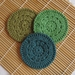 Face Scrubbies Crocheted 100%