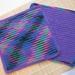 Dish Cloths Crocheted 100% Cotton