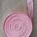 Pink/Gold Bias Binding - 25mm x 5m