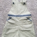 Floral Dungaree shorts - size 4 yrs