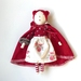 'Red' - Hand made 'Edie' doll
