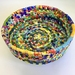 Upcycled Plastic Coil Basket