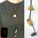 Karen - beach pebble necklace - handmade