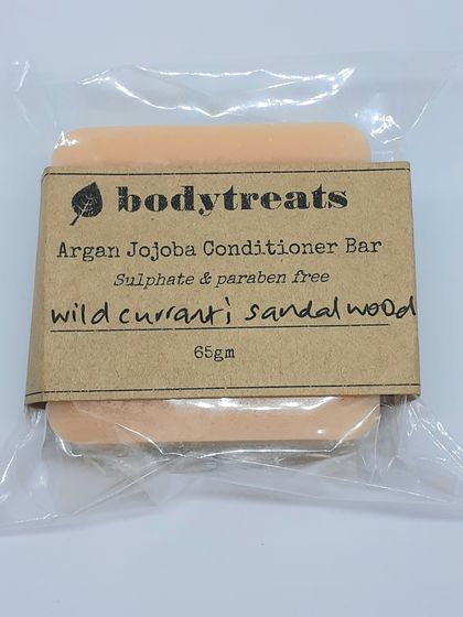 Argan Jojoba Conditioner Bar - sulphate & paraben free 65gm