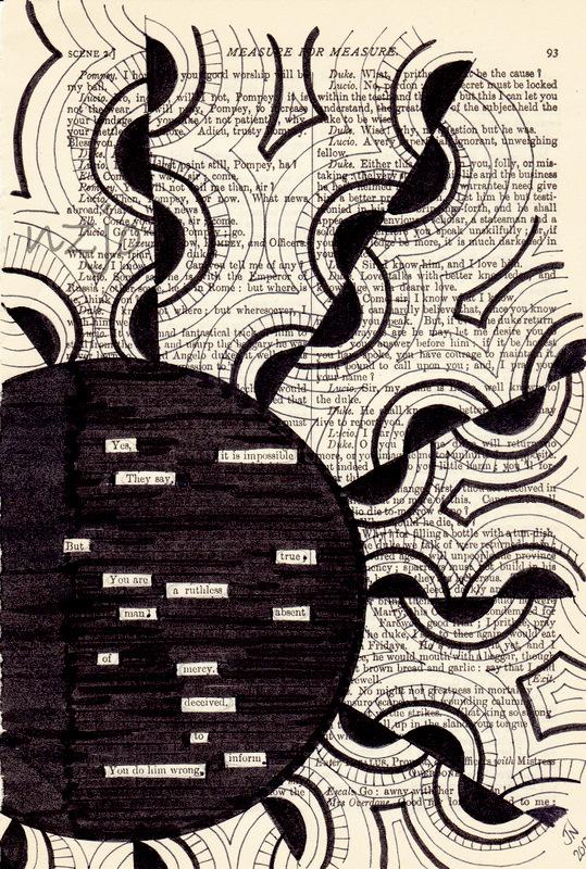 Original Art- Found Poetry - You - 358.5KB