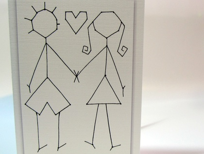 LOVE  - blank card