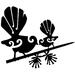 Fantail and Chick Metal Bang'n Bird