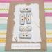 Set of handmade ceramic buttons