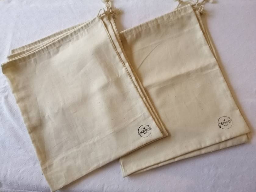 Produce Bags - Natural Cotton Canvas Fabric