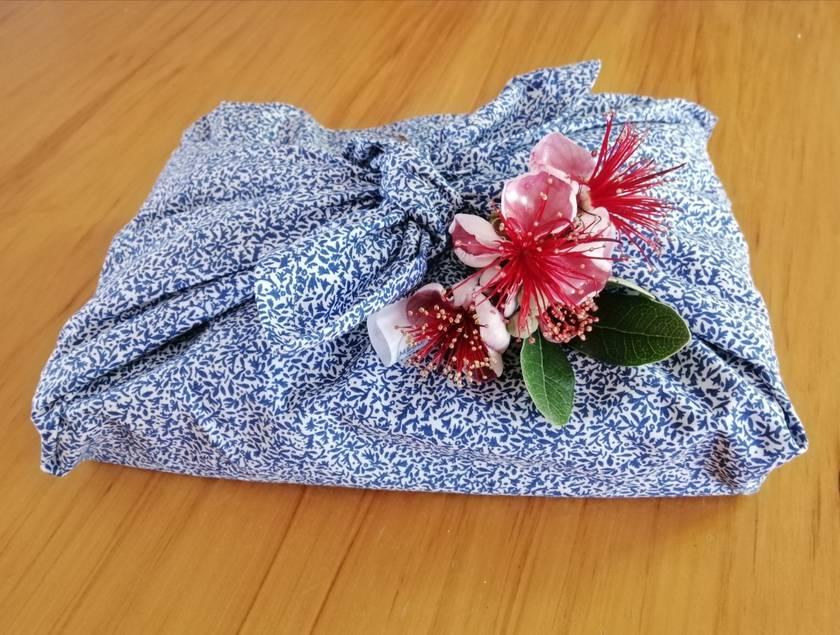 ME.SO eco FABRIC WRAP - Furoshiki - Organic Cotton LARGE