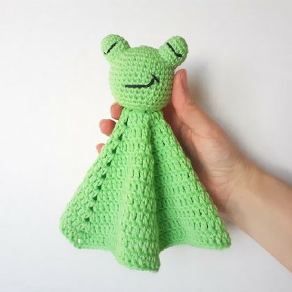 Frog Lovey/Security Blanket