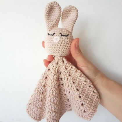 Bunny Lovey/Security Blanket