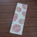Linen Bookmark with HapaZome leaf print